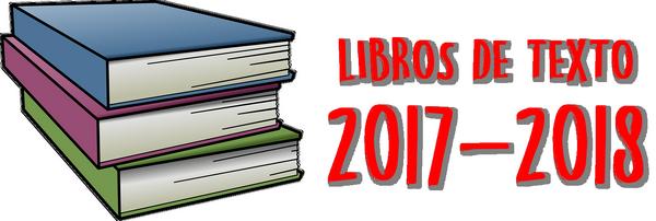 Listado de libros curso 2017/2018