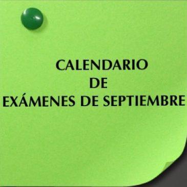 Examenes Septiembre E.S.O