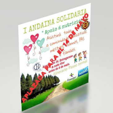 Aplazada la I «Andaina solidaria» para el martes día 14 de mayo