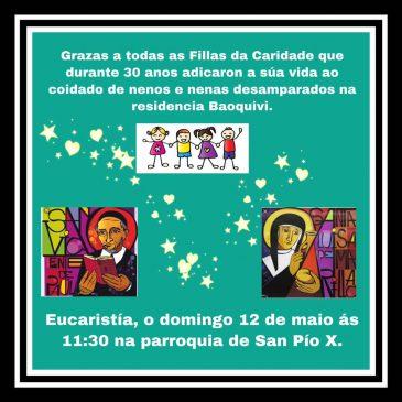 Agradecimiento – Hijas de la Caridad (Baoquivi)