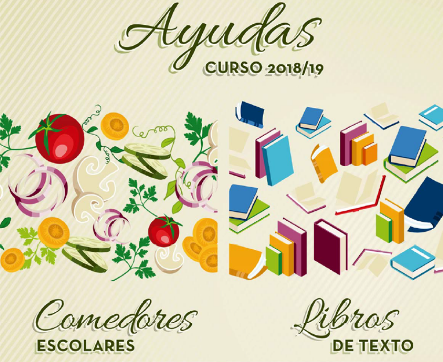 Ayudas comedor y Libros de E.I curso 2018/2019 – Concello de Ourense.