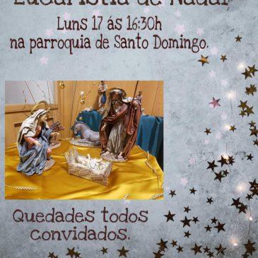 Eucaristía de Navidad 2018