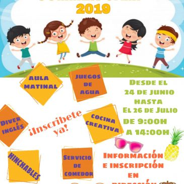 Últimos días – Inscripción Summer Camp 2019