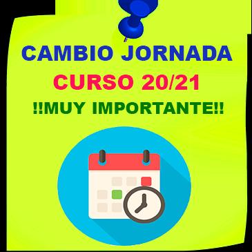 Comunicado – Cambio de jornada excepcional y provisional motivada por COVID-19.